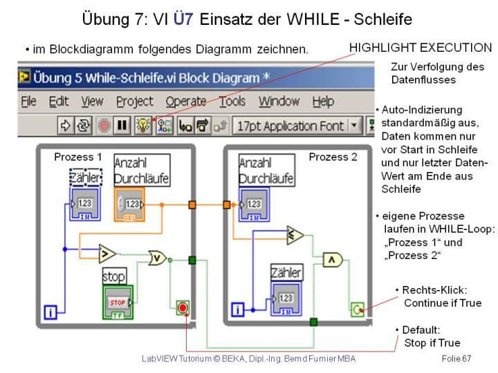 LabVIEW8.0 Grundlagen - Tutorium -